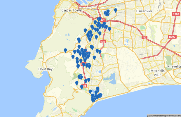About Southern Suburbs in Cape Town